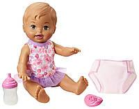 Mattel Little Mommy Кукла пупс пьет и писает Маленькая мама Drink Wet Doll