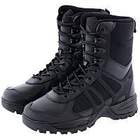 Берцы  Mil-Tec  Combat II Generation черные кожа
