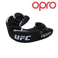 Капа детская OPRO Bronze UFC черная, фото 1