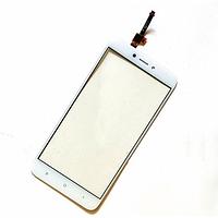 Оригинальный тачскрин / сенсор (сенсорное стекло) для Xiaomi Redmi 4X (белый цвет)