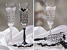 Весільні бокали , фото 2