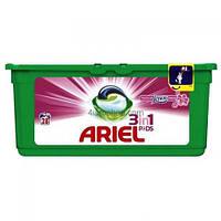 Ariel капсулы 3 in 1 lenor fresh универсальные 28шт