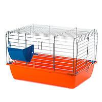 Клетка для кролика цинковая InterZoo Rabbit 50 Folding G074 (500*280*300мм)