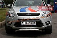 Защита передняя нижняя d 60 Союз 96 на Ford Kuga 2008-2010