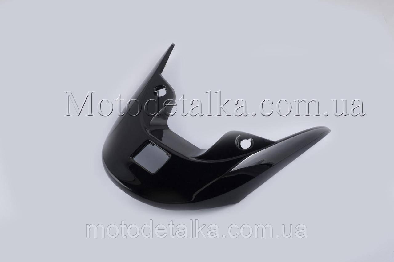 Пластик   Zongshen WIND   задний (спойлер)   (черный) .