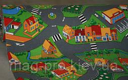 Детский ковролин c дорогами LITTLE VILLAGE, фото 3