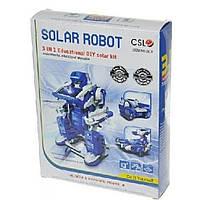 Конструктор Same Toy Робот-конструктор Трансформер 3 в 1 на солнечной батарее (2019UT)