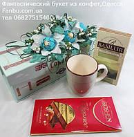 """Подарочная коробочка с чаем ,чашкой и сладостями""""Лондон"""", фото 1"""