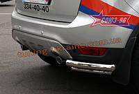 "Защита задняя d 42/60 ""уголки"" двойные Союз 96 на Ford Kuga 2008-2010"