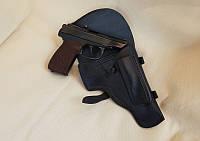 Кожаная штатная кобура на пистолет Макаров, фото 1