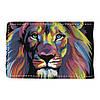 Візитниця v.2.0. Fisher Gifts 15 Кольоровий лев (еко-шкіра), фото 6