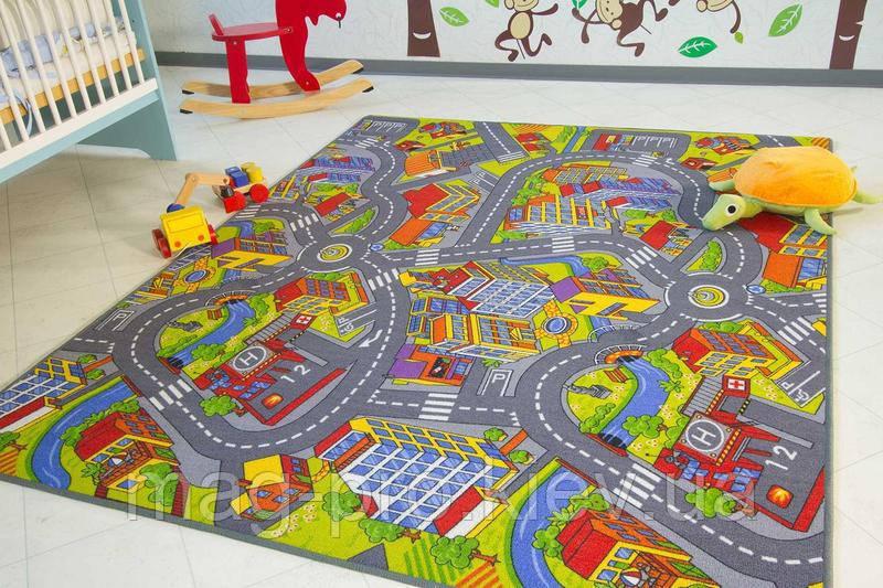 Детский ковролин Умный город