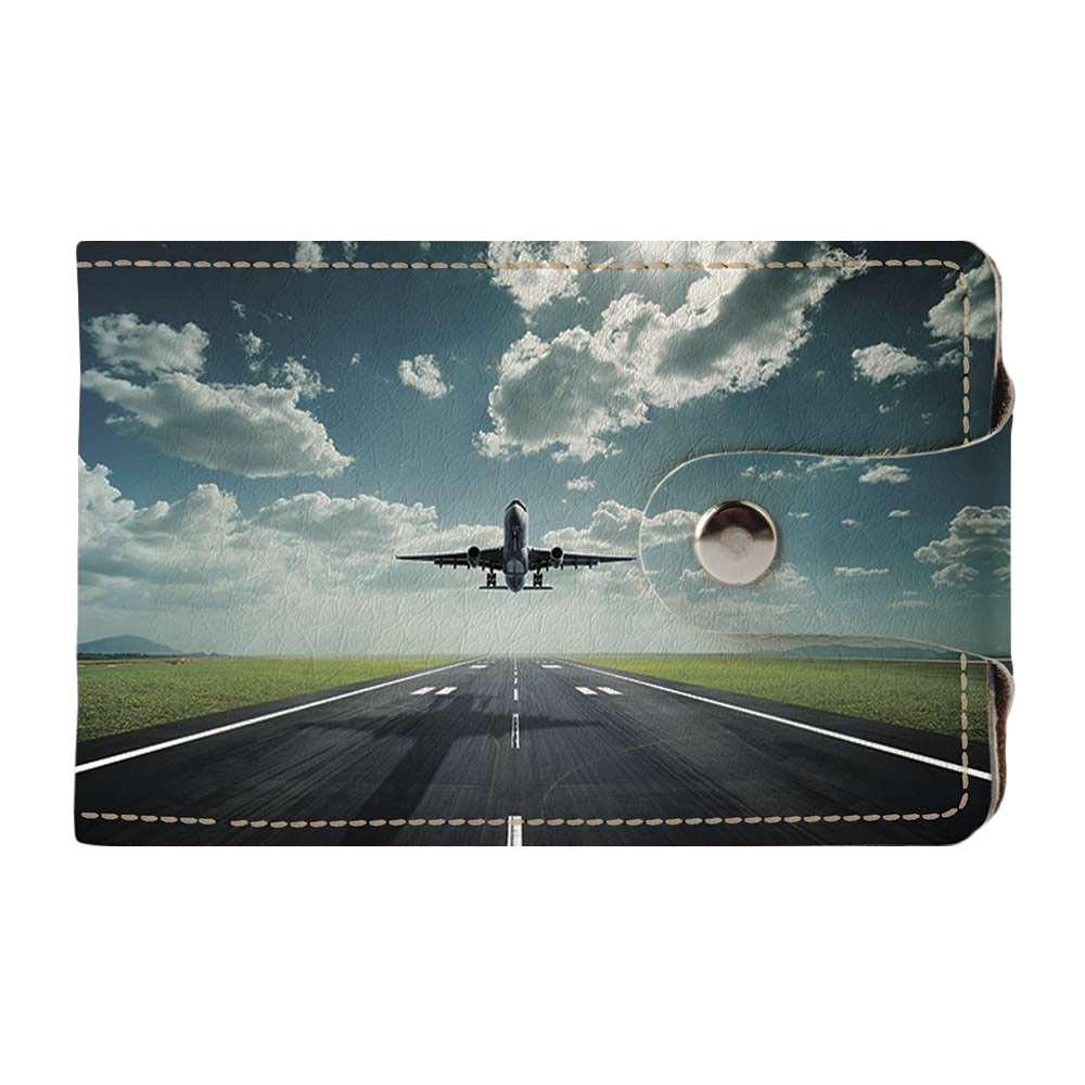Візитниця v.2.0. Fisher Gifts 40 Літаків (еко-шкіра)