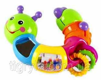 Гусеница-ломалка развивающая игрушка для малышей, фото 2