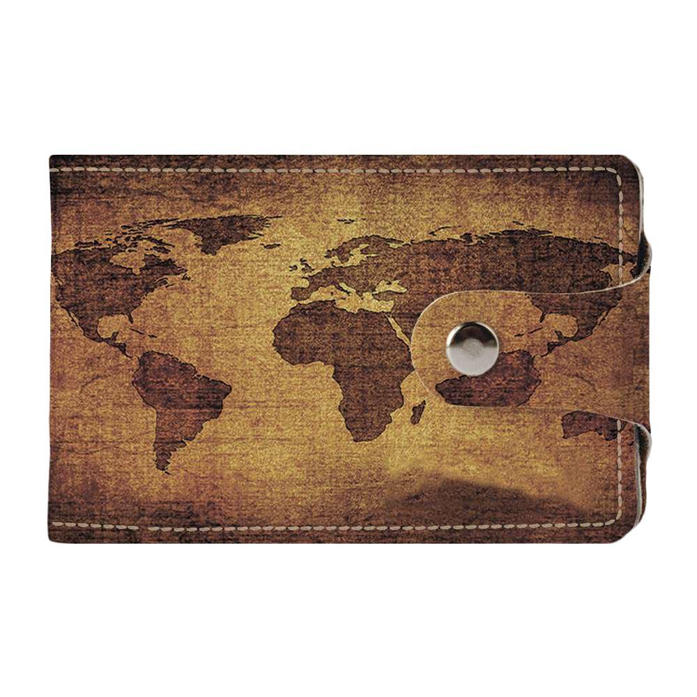 Визитница v.2.0. Fisher Gifts 78 Континенты (эко-кожа)