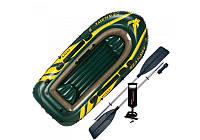 Надувная лодка  Intex 68380 (SEAHAWK-300)