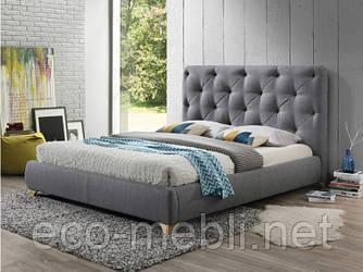 Двоспальне ліжко з мякою оббивкою Bugatti 160 Signal