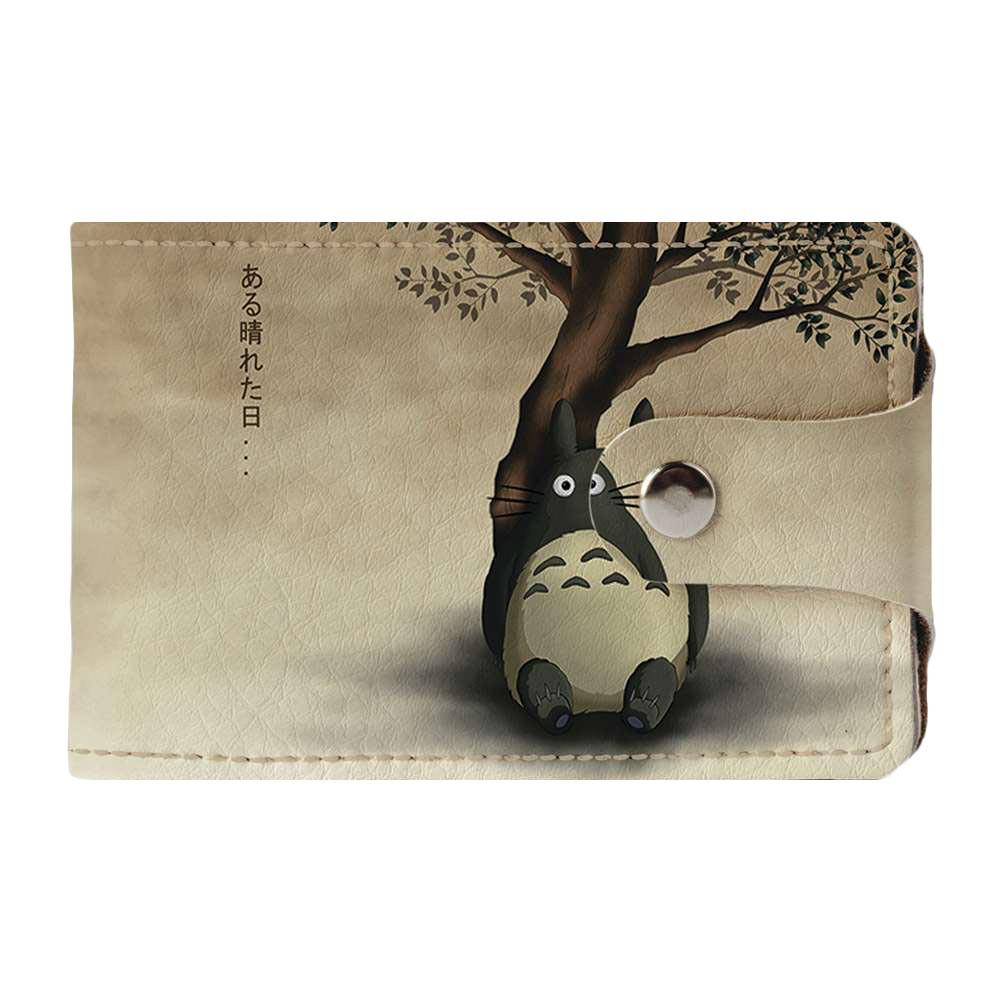 Візитниця v.2.0. Fisher Gifts 93 Тоторо під деревом (еко-шкіра)