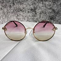 Gucci Sunglasses Circle with Bee Gold Light Pink 8d4e4e394c12e