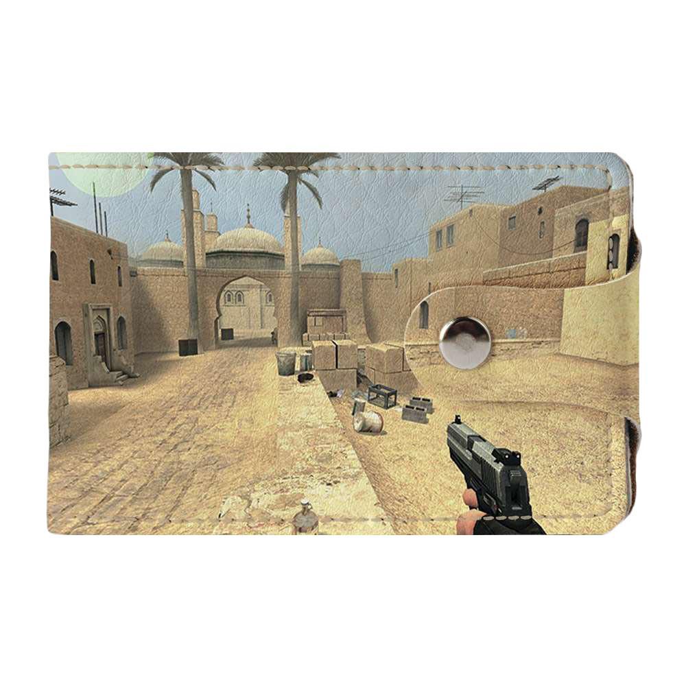 Визитница v.2.0. Fisher Gifts 135 Counter-Strike Attack! (эко-кожа)