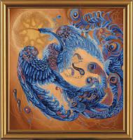 Набор для вышивания в смешанной технике Волшебная птица ННД1015