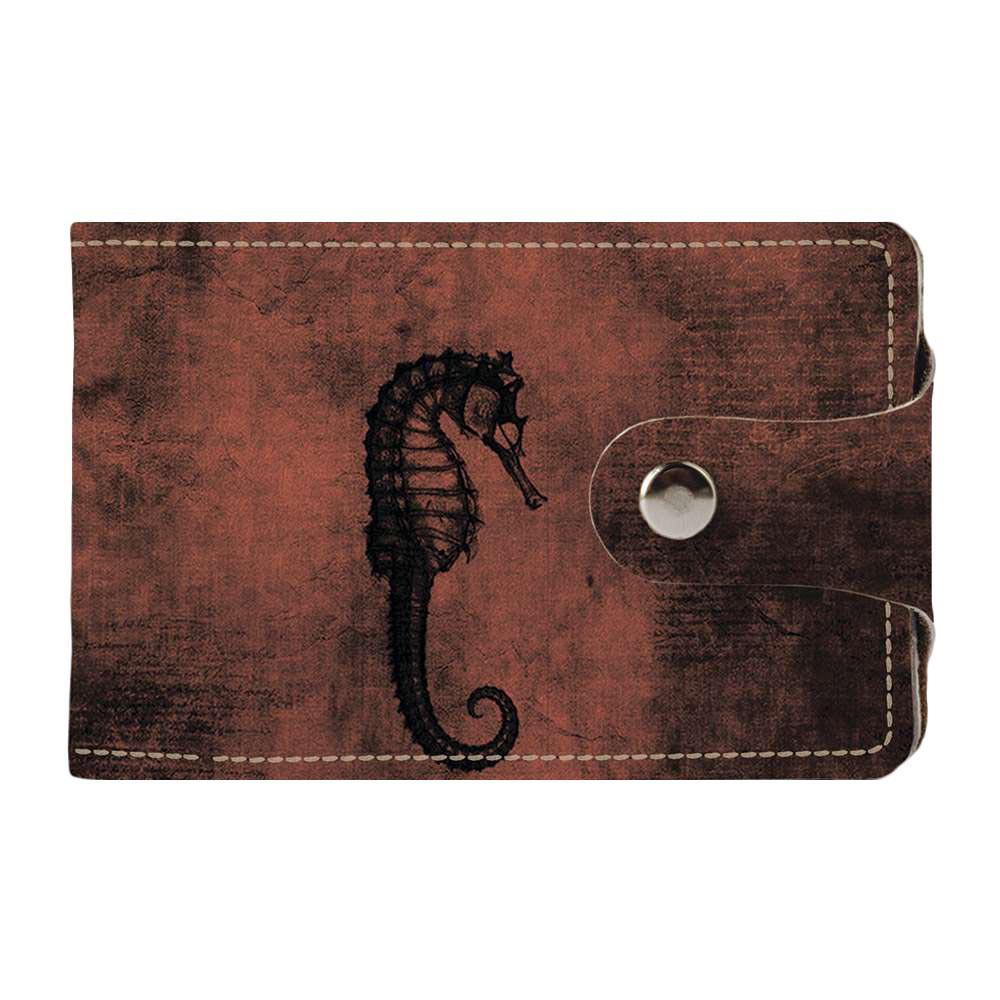 Визитница v.2.0. Fisher Gifts 138 Морской конёк (эко-кожа)