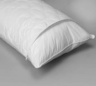 Подушка 50х70,стеганый чехол, внутренняя подушка на змейке