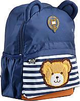 Рюкзак детский j100, 32*24*14.5, синий