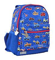 Рюкзак детский K-16 Funny cars, 22.5*18.5*9.5
