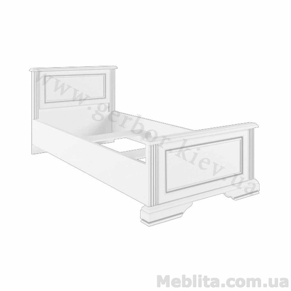 ВАЙТ Кровать 90 (каркас)