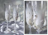 Купить свадебные бокалы Б-103