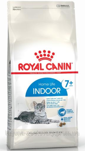 Корм для кошек от 7 лет, живущих в помещении, 3,5кг/ Роял Канин INDOOR 7+