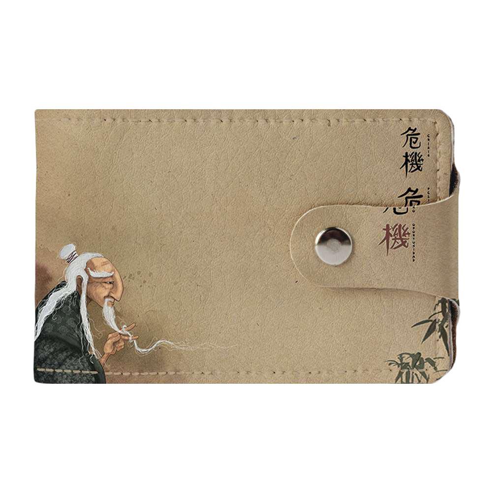Визитница v.2.0. Fisher Gifts 217 Мудрый старец (эко-кожа)