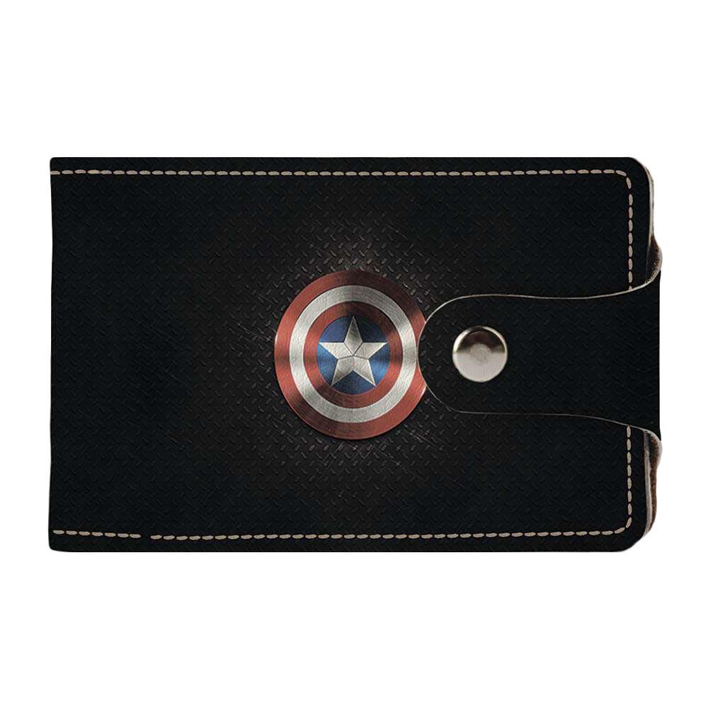 Визитница v.2.0. Fisher Gifts 226 Капитан Америка (эко-кожа)