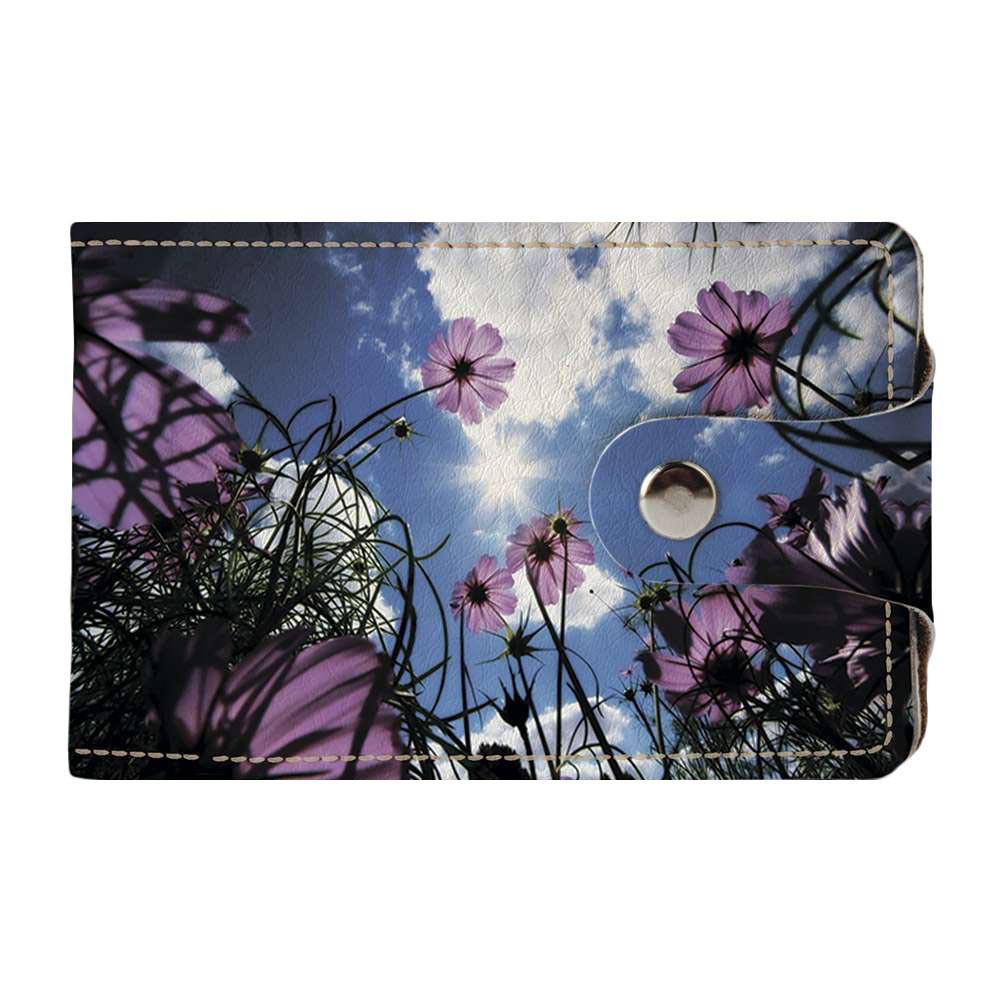 Візитниця v.2.0. Fisher Gifts 239 Квіти і хмари (еко-шкіра)