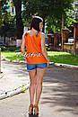 Блуза без рукавов вышитая женская блузка, вышиванка, этно стиль, фото 6
