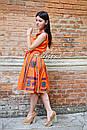 Блуза без рукавов вышитая женская блузка, вышиванка, этно стиль, фото 7