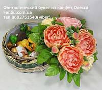 """Подарочная коробочка с чаем и сладостями""""Персиковый десерт"""", фото 1"""