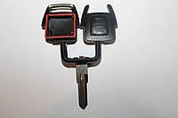 Корпус ключа для Opel Astra, Vectra (Опель Астра, Вектра),2 кнопки з лезом HU46P