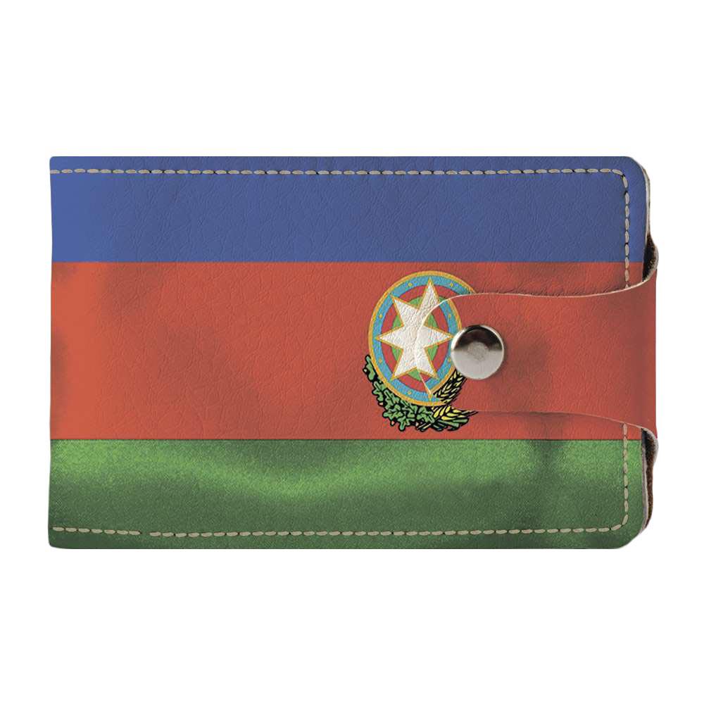 Визитница, картхолдер 2.0 Fisher Gifts 301 Azerbaijan Republic 2 (эко-кожа)