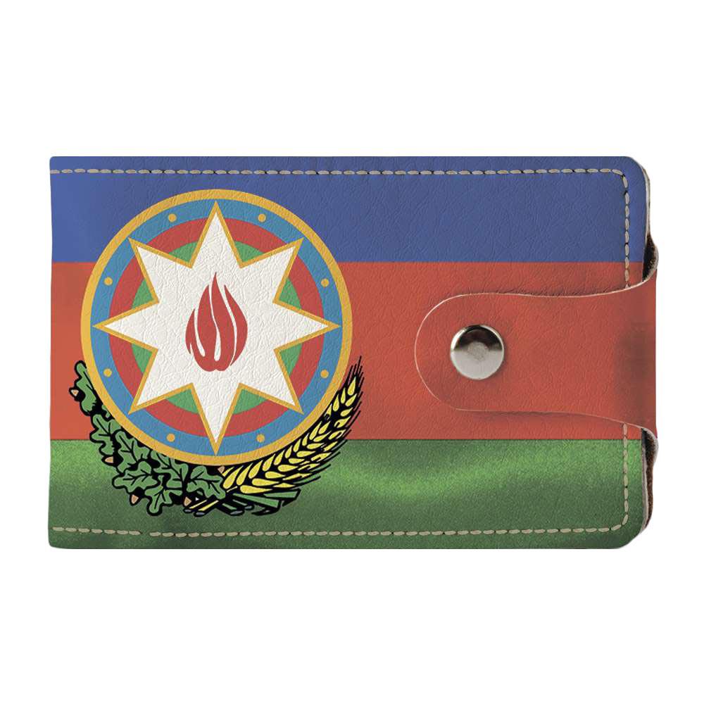 Візитниця v.2.0. Fisher Gifts 302 Azerbaijan Republic black (еко-шкіра)