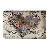 Візитниця v.2.0. Fisher Gifts 303 Серце з квітів арт (еко-шкіра), фото 6