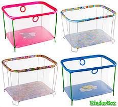 Детские манежи игровые KinderBox