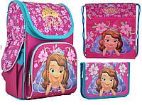 Набор 1 Вересня Sofia rose рюкзак 555168, пенал 531791, сумка 555337