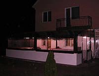 Утепление веранды дома мягкими окнами ПВХ
