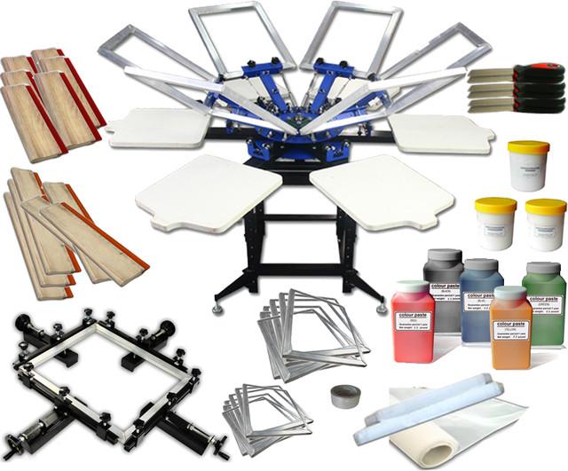 Витратні матеріали та знаряддя для шовкотрафаретного друку