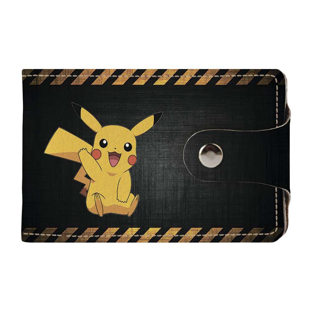 Визитница v.2.0. Fisher Gifts 509 Pikachu (эко-кожа)