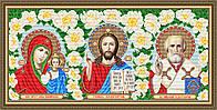 Набор алмазной живописи - икона Триптих