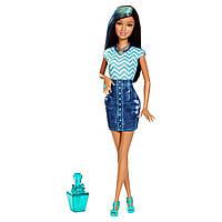 Barbie Барби измени цвет ногтей и волос Glitz & Glam Hair and Nail Doll CHJ92 CHJ89