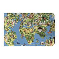 Визитница Fisher Gifts v.2.0. 561 Карта мира-весёлый арт (эко-кожа)